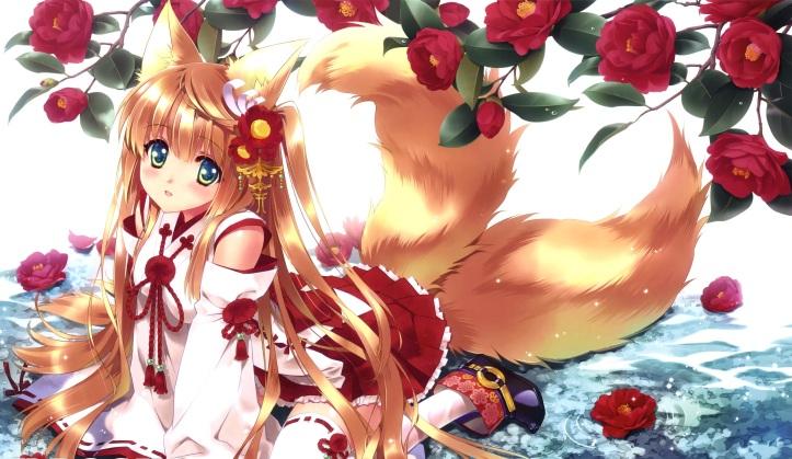 kitsune_chan_blond_blonde_hair_anime_yukata-ziPU